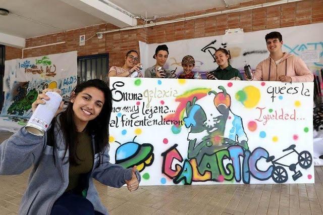 Primer Premio VIII Concurso Grafitis