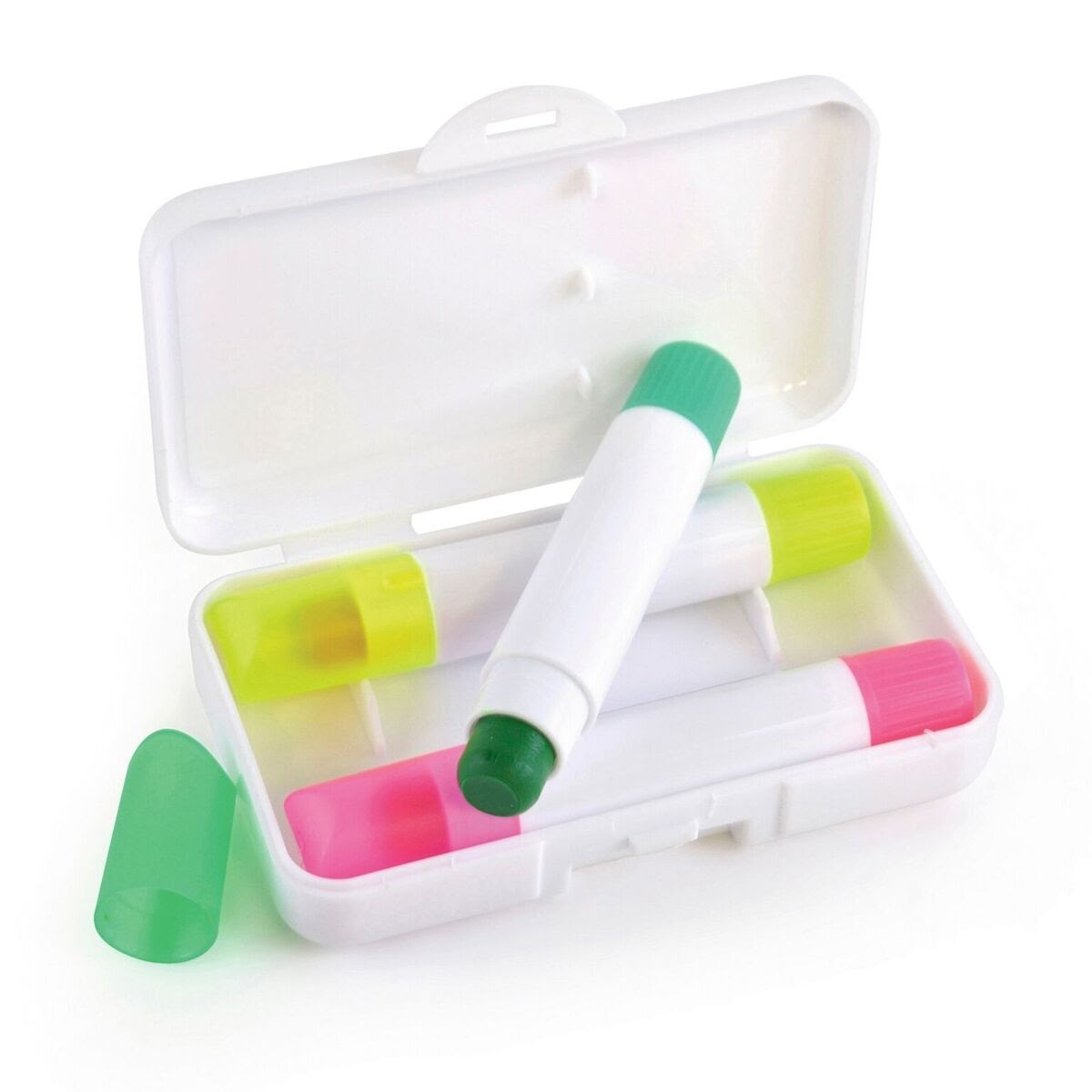 Wax Highlighter Crayon Set
