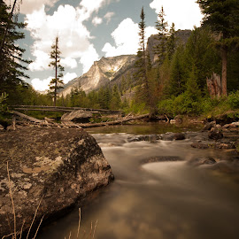 stream by Micah Maddox - Landscapes Waterscapes ( sky, mountain, canyon, stream, water )