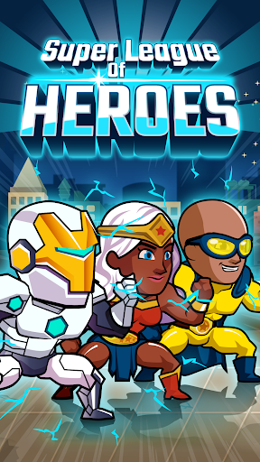 Télécharger Gratuit Super League Of Heroes – Champions de BD APK MOD (Astuce) screenshots 1