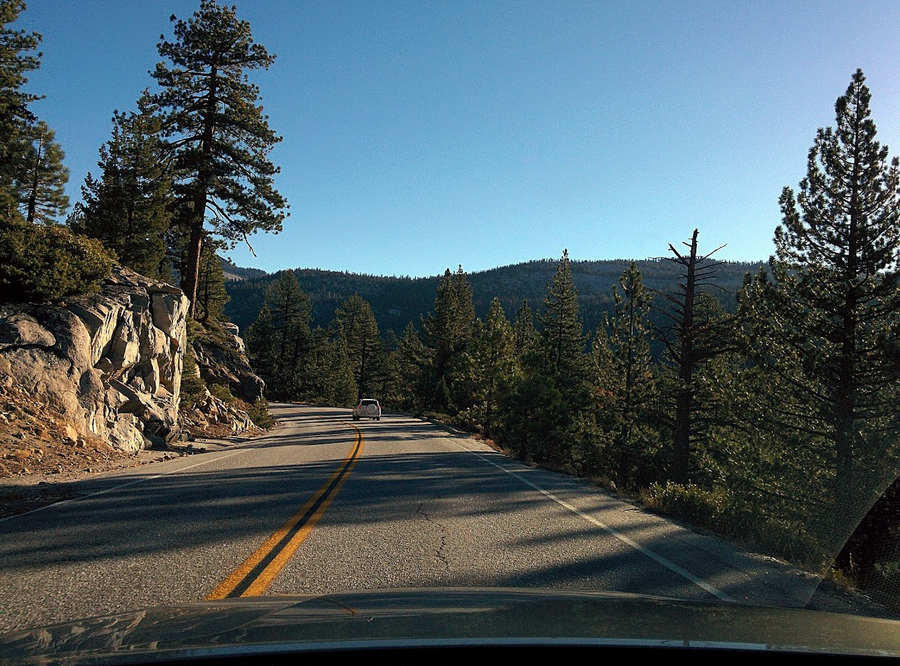 Valle de Yosemite, Tioga Road