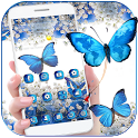 Blue Butterfly Dream Theme Wallpaper icon