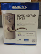 """Photo: I bought this new lock with a keypad to address """"Hey, the boys needtheir own keys to the house.' concern Maryann Goldman raised."""