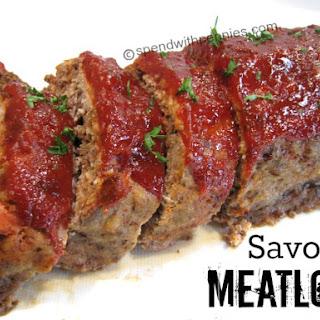 Savory Meatloaf.