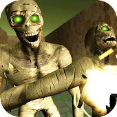 Scary Maze Mummy Shooting Game