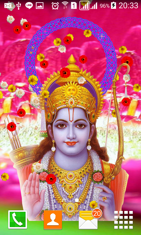 Lord Sri Rama Live Wallpaper Android Apps On Google Play