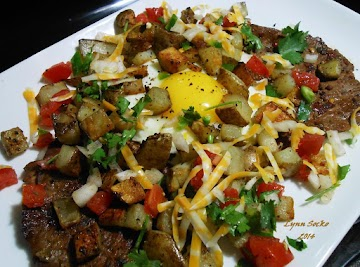 Steak With Eggs And Potatoes Recipe