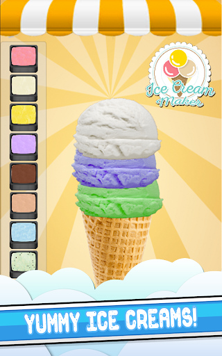 Frozen Ice Cream Cooking Game