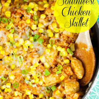 Southwest Skillet Chicken And Rice
