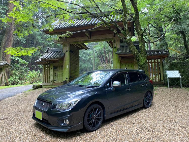 インプレッサ スポーツ GP6の談山神社 東大門,自然を感じる,雨だけどに関するカスタム&メンテナンスの投稿画像2枚目