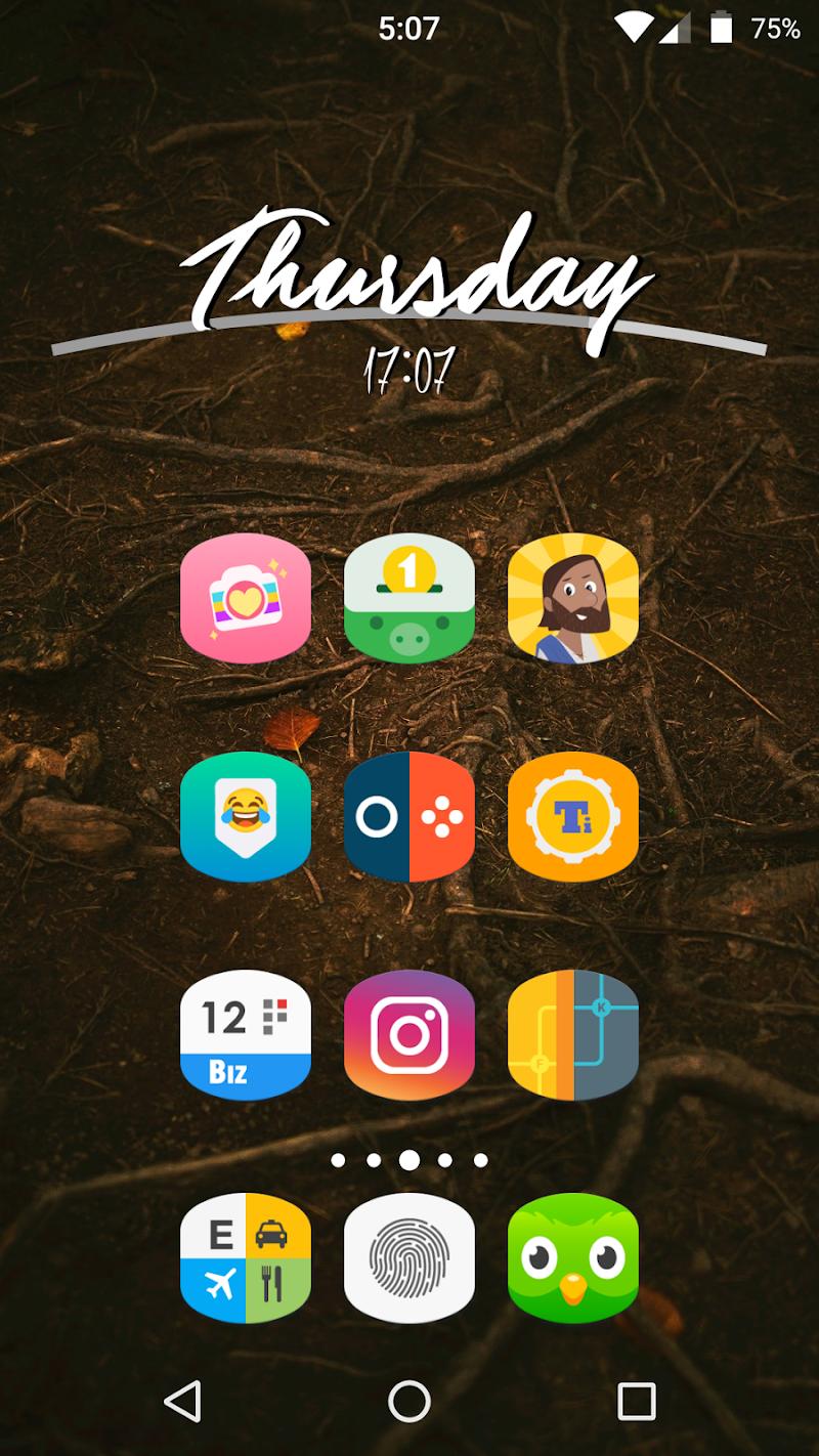 Cylinder UI - Pixel Icon Pack Screenshot 1