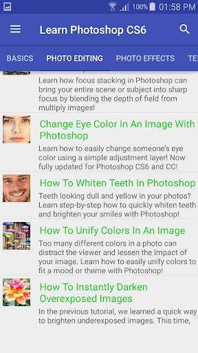 Learn Photoshop CS6 Step By Step 1.4.2 screenshots 1