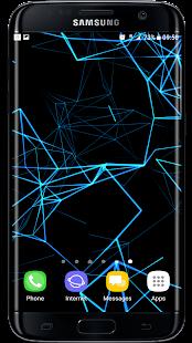 [Neon Particles 3D Live Wallpaper] Screenshot 8