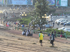 Photo: Meskel Square, Addis Ababa