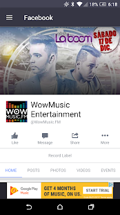WowMusic.FM | Musica Latina- screenshot thumbnail