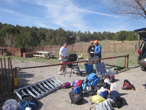 Photo: Manning the grill at Cedro Peaks