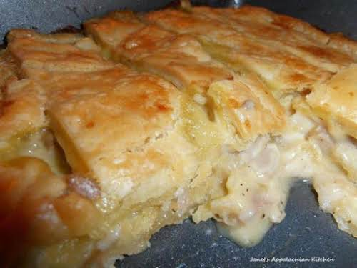 """Mama's Chicken Pie""""I made this today for my family. I used the..."""