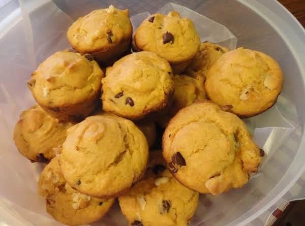 Pumpkin Chip Muffins!