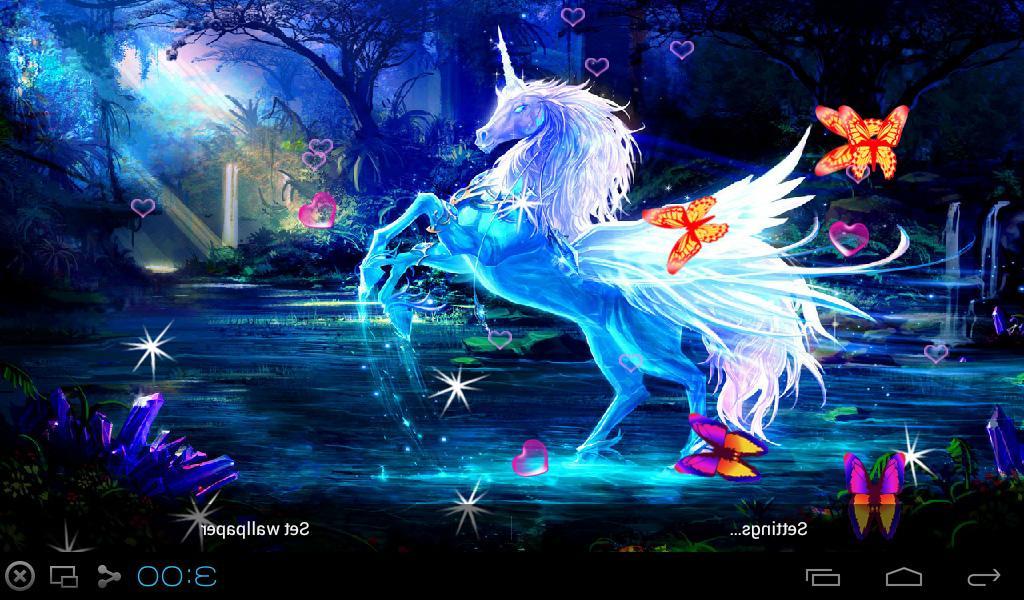 3D Unicorn Live Wallpapers