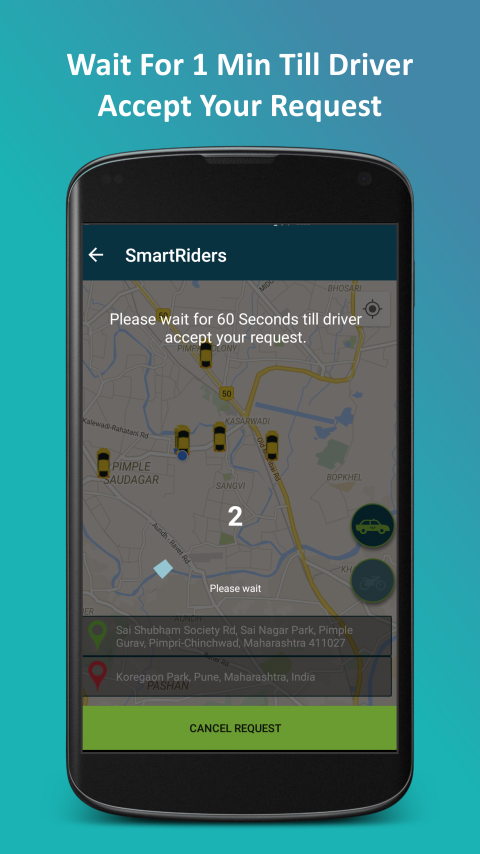 SmartRiders - Book a Bike/Car- screenshot