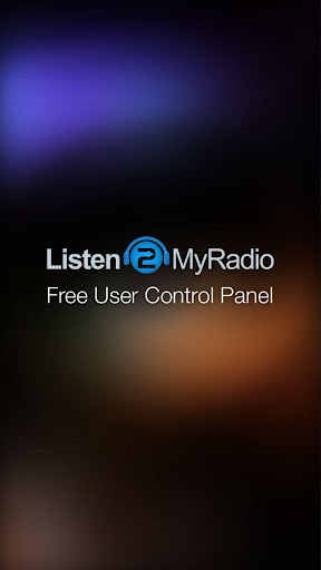 Listen2MyRadio Control Panel