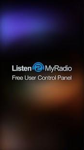 Listen2MyRadio Control Panel - μικρογραφßα στιγμιüτυπου οθüνης
