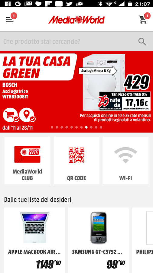 MediaWorld- screenshot