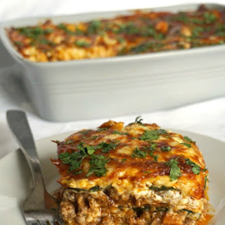 High Protein Low Carb Zucchini Lasagna Recipe