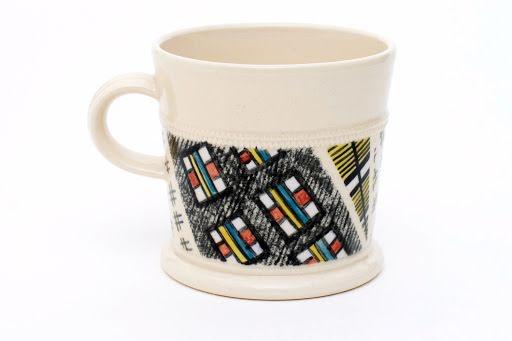 Walter & Madoline Keeler Ceramic Mug 01