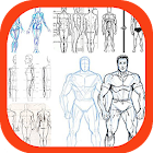 Learn to Draw Human Body icon