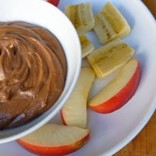 Weight Watchers Chocolate Peanut Butter Dip.