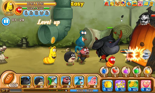 Larva Heroes: Lavengers 2.6.8 screenshots 5