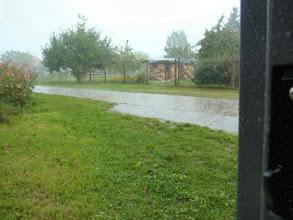 Photo: ...am Tag als der Regen kam, als Wolkenbruch, doch ich hatte Glück...