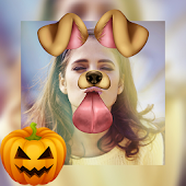 Halloween Stickers & Filters Photo Collage Editor