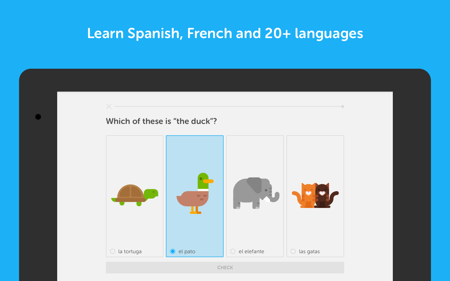 Screenshots of Duolingo: Learn Languages Free for iPhone