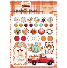 Carta Bella Decorative Brads 25/Pkg - Fall Break UTGÅENDE