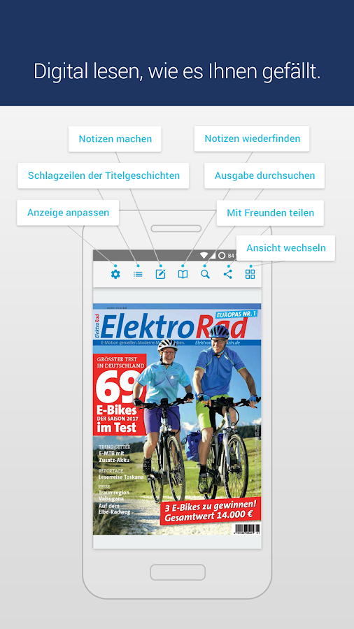 ElektroRad · epaper- screenshot