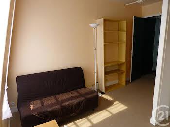 Studio meublé 17,27 m2