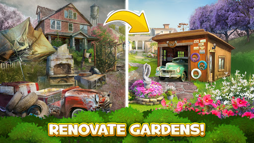 Solitales: Garden & Solitaire Card Game in One 1.105 screenshots 4