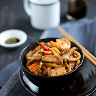 Malaysian-style Fried Udon.