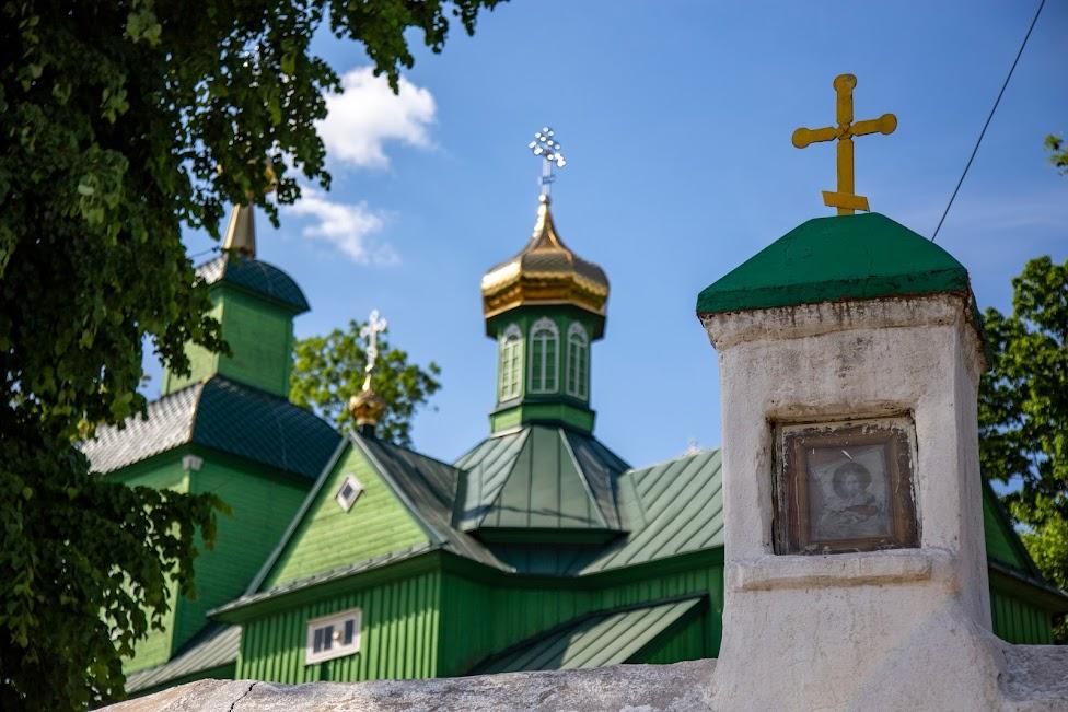Trześcianka, cerkiew św. Michała Archanioła