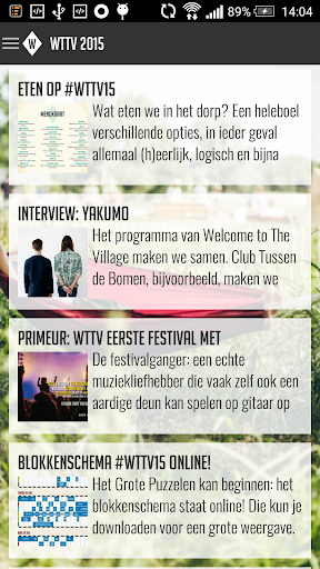 Welcome to the Village 2015