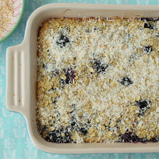 Coconut Cream Baked Oatmeal.