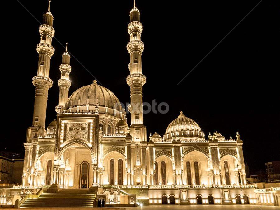 Baku by Azer Gezalov - City,  Street & Park  Night ( baku )