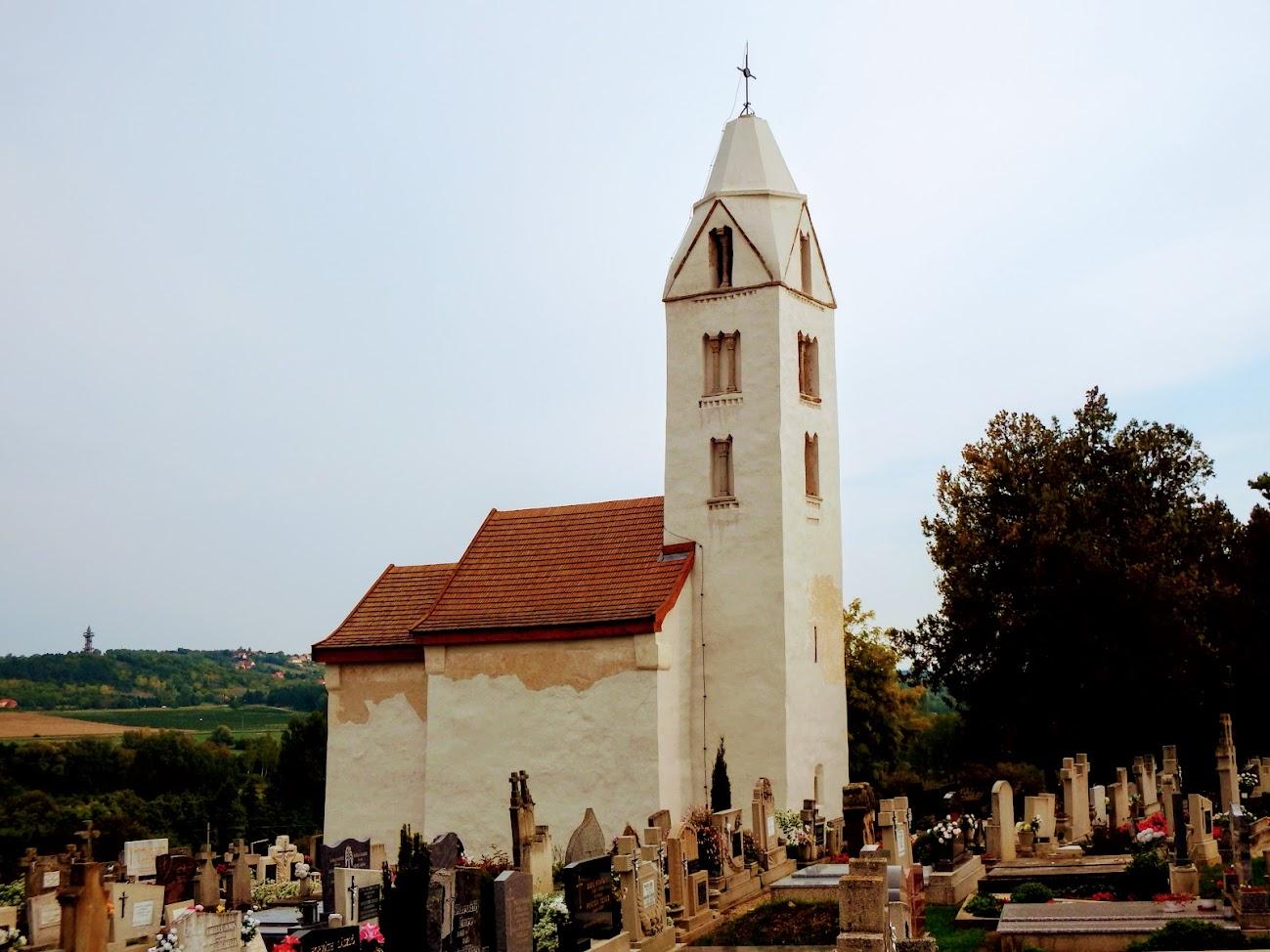 Hévíz - Egregy Árpád-kori Szent Magdolna rk. templom