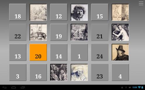 Rembrandt Advent Calendar - náhled