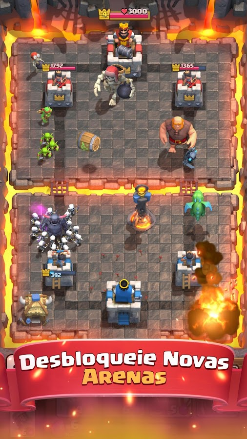 Clash Royale: captura de tela
