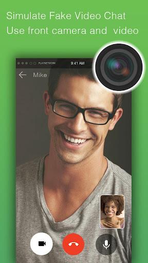 Fake video call - FakeTime for Messenger 2.2.93 screenshots 1