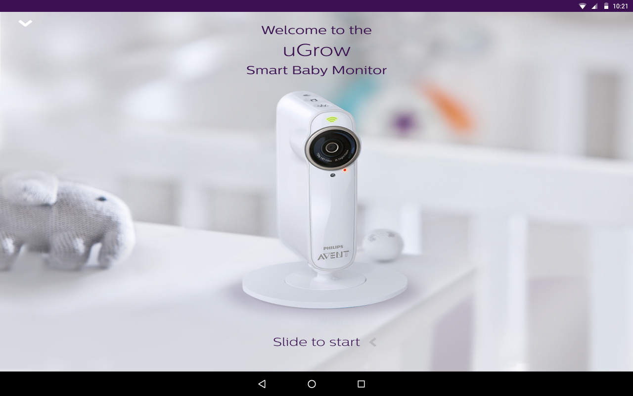 ugrow smart baby monitor android apps on google play. Black Bedroom Furniture Sets. Home Design Ideas