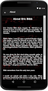 Eric Bibb - (Songs+Lyrics) - náhled